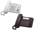 Telephone Panasonic Corded KX-TS520FXB Black