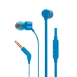 Earphones JBL T110 w/microphone Blue