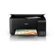 Epson L3150 Inkjet w/ Eco Tank System (CISS) MFP WiFi w/ Extra Black Ink Bottle + Epson Photo Paper