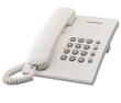 Telephone Panasonic Corded  KX-TS500FX  White