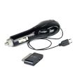 USB Universal Car Charger ZipKord 510CMIX 1.0A Retractable Micro USB w/30-Pin Dock Connector
