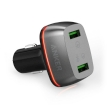 USB Universal Car Charger Anker PowerDrive+ 2 Quick Charge 3.0 Black