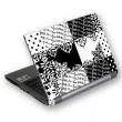 Notebook skin A4 GSBW-15Q Black&White