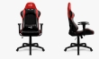 Gaming Chair Aerocool AC100 AIR Black/Red