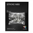 Wacom Pen Nibs Stroke 5 Pack For Intuos 4/5/Pro