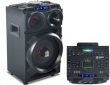 Speaker Box GOCLEVER Sound Club Master Karaoke 100W Rechargeable/BT/FM/LED w/Remote, Party Lights