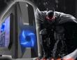 ATX Midi Tower Case SAMA GameStorm Bat Knight Gaming Black w/o PSU