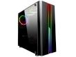 ATX Midi Tower Case SAMA Inpower Black Gold 5 v2 Gaming Black w/o PSU