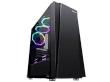 ATX Midi Tower Case SAMA Inpower Black Gold 7 Gaming Black w/o PSU