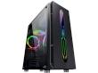 ATX Midi Tower Case SAMA Inpower Black Gold 9 Gaming Black ARGB Strip w/o PSU