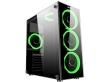 ATX Midi Tower Case SAMA Inpower Bright Gaming Black w/o PSU