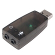 USB to Audio Adapter 5.1 w/Mic Jack 3D Sound
