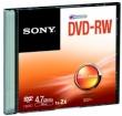 DVD-RW 4.7GB 16x Sony DMW47SS Slim Case