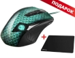 Mouse Sharkoon Drakonia Gaming Laser 5000 DPI USB w/LED & Weight Tuning + GRATIS Mouse Pad 1337