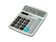 Calculator Trevi EC 3770 Battery/Solar Power 10 Digits Silver