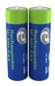 Batteries 1000mAH Rech. NI-MH AAA 2pcs EnerGenie
