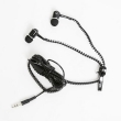 Earphones Freestyle Zip FH2111 w/Microphone Black