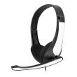 Headphones Omega Freestyle FH-4088 White w/Microphone HI-FI