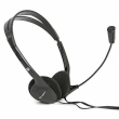 Headphones w/Mic Fiesta FIS-1010 Black