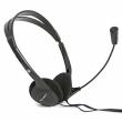 Headphones w/Mic Fiesta FIS-1010 Black