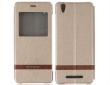 Flip Case w/Window for Blackview A8 Leather Champagne Gold