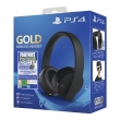 Wireless Headset Sony PS4 Gold 7.1 Fortnite Neo Versa Bundle