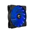 Case Fan 120x120x25 White Shark Vector Blue LED