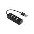 USB HUB 2.0 4-Port SBOX H-204 Black