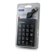 USB Keypad Retractable Black Hantol
