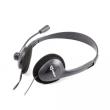 Headphones SBOX HS-201 w/Microphone Black