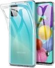 Samsung Case for Galaxy A51 Silicone Transparent