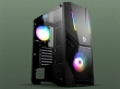 ATX Midi Tower Case SAMA GameStorm Journey Gaming Black ARGB Strip w/o PSU