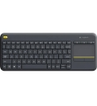 Keyboard Logitech Wireless Touch K400 Plus PC-to-TV  Black