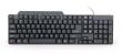 Keyboard Gembird KB-UM-104 Multimedia USB Black
