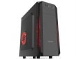 ATX Midi Tower Case SAMA Inpower Male Heart Gaming Black w/o PSU