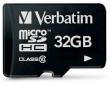 Secure Digital Micro Verbatim 32GB SDHC High Speed Class10