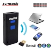 BarCode Scanner Symcode MJ-2877 Mini 1D CCD Bluetooth Black