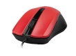 Mouse MUS-101-R Optical Red 1200DPI USB