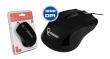 Mouse MUS-101 Optical Black 1200DPI USB