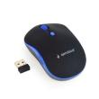 Mouse Gembird Wireless MUSW-4B-03 Optical 1600DPI Black/Blue