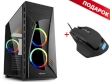 ATX Midi Tower Case Sharkoon NIGHT SHARK RGB Gaming w/3x120mm RGB Fans + GRATIS Mouse SHARK Force