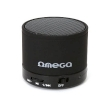 Speaker Omega Bluetooth Rechargeable w/Microphone, microSD Black