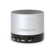 Speaker Omega Bluetooth Rechargeable w/Microphone, microSD Silver