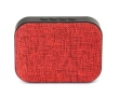 Speaker Omega Bluetooth Rechargeable V4.1 Fabric Red
