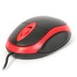 Mouse Omega OM-06VR 3D Optical Black/Red 1200DPI USB
