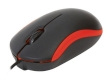 Mouse Omega OM-07VR 3D Optical Black/Red 1000DPI USB