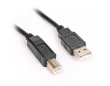 Cable USB 2.0 A to B 1.5m Black Omega
