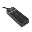 USB HUB 3.0 4-Port Omega OUH34B Black