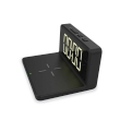 Digital Alarm Clock Platinet w/Wireless Charger