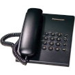 Telephone Panasonic Corded  KX-TS500FX Black